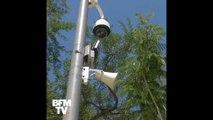 À Hyères, un haut-pareur sous une caméra de vidéosurveillance permet aux policiers de réprimander les incivilités