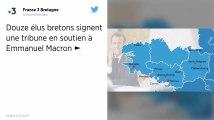 72 maires et élus locaux de droite et du centre publient une tribune en soutien à Emmanuel Macron