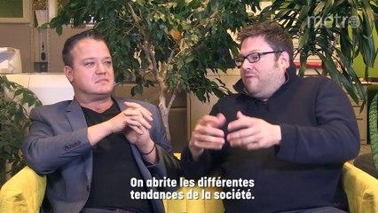 Discussion de salon avec  Mathieu Bock-Côté