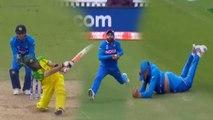 World Cup 2019 IND vs AUS: Ravindra Jadeja takes a stunner to dismiss Glenn Maxwell | वनइंडिया हिंदी