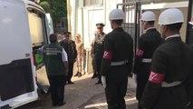 Azez'deki terör saldırısında şehit olan Uzman Onbaşı Halil Kurt için tören