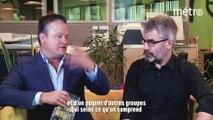 Discussion de salon avec Sylvain David