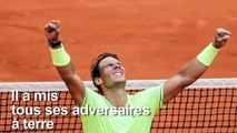 Tennis: Rafael Nadal remporte son 12e Roland-Garros
