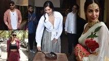 Sonam Kapoor celebrates her birthday with Arjun Kapoor, Jhanvi, Malaika Arora, & others | FilmiBeat