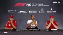 F1 2019 Canadian GP - Post-Race Press Conference