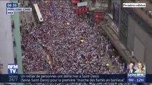 Les images d'une manifestation monstre à Hong Kong contre un projet de loi d'extradition vers la Chine