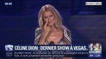 Céline Dion très émue lors de son dernier concert à Las Vegas
