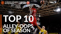2018-19 Turkish Airlines EuroLeague: Top 10 Alley-Oops!