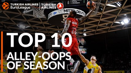 2018-19 season: Top 10 Alley-Oops!