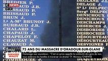 75e anniversaire du massacre d'Oradour-sur-Glane : Ce jour-là, 642 civils étaient assassinés par l'armée allemande