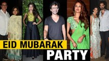 Bollywood Celebs Attend Raza Beig Eid Party _ Esha Gupta, Lulia Vantur, $unny Le