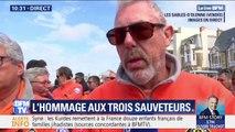 Très ému, ce bénévole de la SNSM rend hommage aux trois sauveteurs morts vendredi aux Sables-d'Olonne