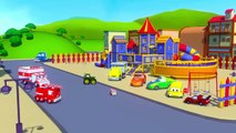 Carl le Camion Transformer est le Camion de Pompier à Car City | Dessin animé pour enfants