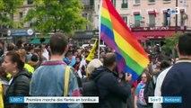 LGBT+ : la marche des fiertés a quitté Paris pour colorer Saint-Denis