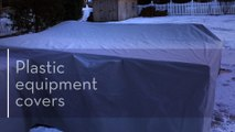 Plastic Equipment Covers | Machinery Covers | Equipment Covers with Snap–Creative Covers INC