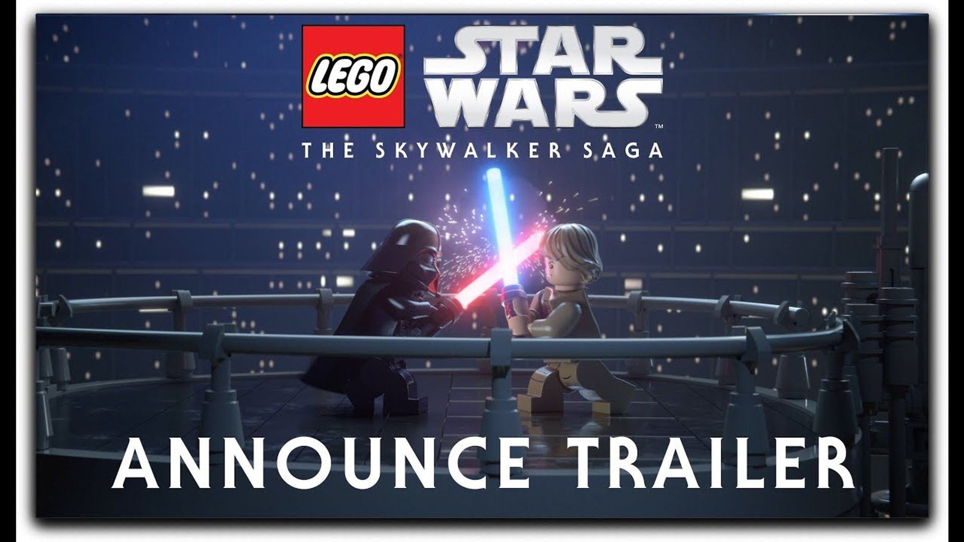 Lego Star Wars The Skywalker Saga Official Reveal Trailer E3 2019 Video Dailymotion