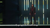 Keanu Reeves graces Xbox event in E3 Expo