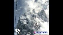 Regardez l'éruption (en accéléré) du volcan Sinabung en Indonésie