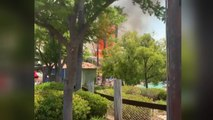 Fast-moving wildfire forces hundreds to evacuate California Six Flags