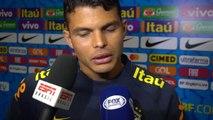 """Brésil - Silva : """"Je m'entends très bien avec Marquinhos"""""""
