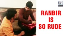 Ranbir Kapoor Receives Backlash For DISRESPECTING A Fan Who Touches His Feet