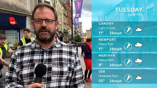 WEATHER: June 11th 2019