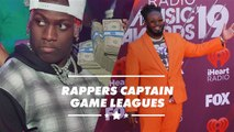 Lil Yachty & T-Pain captain game leagues at E3