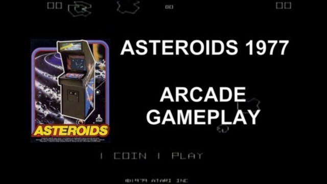 Playing ASTEROIDS - Arcade (1979)