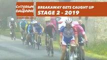 Near Live Video - Étape 2 / Stage 2 - Critérium du Dauphiné 2019
