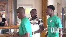 Football | CAN 2019 : Constant Djakpa l'ex-international ivoirien en visite chez les Éléphants