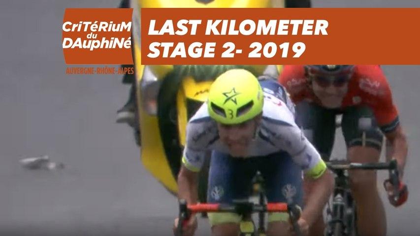 Last Kilometer / Dernier kilomètre - Étape 2 / Stage 2 - Critérium du Dauphiné 2019