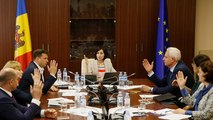 """Stallo politico in Moldova, la premier Maia Sandu: """"Il nuovo governo è legittimo"""""""