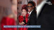 Billy Porter Wears Curtain from Broadway's 'Kinky Boots' at the 2019 Tony Awards