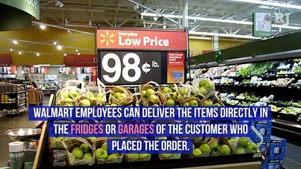 Walmart Can Now Deliver Groceries Straight to Your Fridge