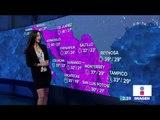 Así estará el clima este jueves 6 de junio de 2019 | Noticias  con Yuriria Sierra