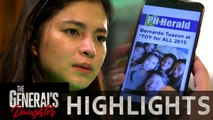 Rhian finds out about Tiago's plan | The General's Daughter