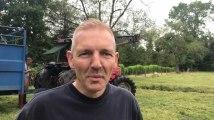 Jurbise : le capitaine Wauquiez a secouru la vache