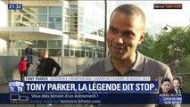"""Tony Parker: """"Je trouvais que c'était le bon moment de prendre ma retraite"""""""