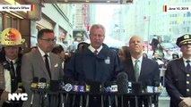 NYC Mayor Bill de Blasio On Helicopter Crash: 'No Indication...This Was An Act Of Terror'