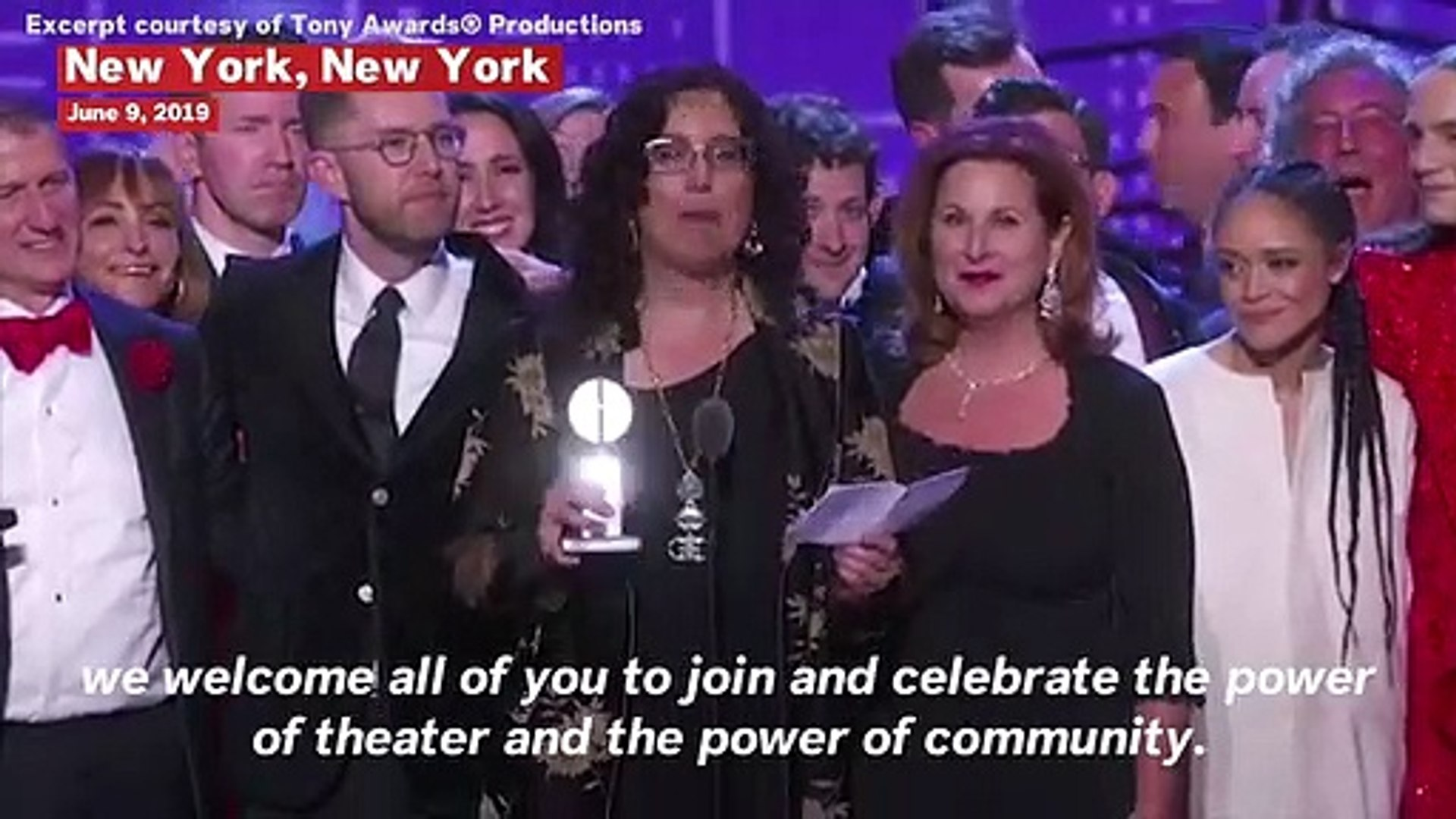 The Cast Of 'Hadestown' Performs 'Wait For Me' At The 2019 Tony Awards