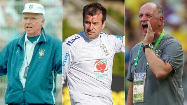 Os técnicos da Seleção nas últimas dez edições da Copa América
