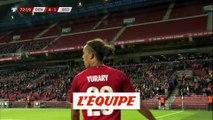 Les buts de Danemark-Géorgie - Foot - Qualif. Euro