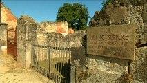75ème commémoration du massacre d'Oradour-sur-Glane