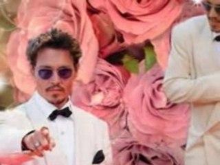 Johnny Depp  music by TVXQ