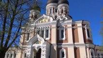 Amazingly Beautiful Aleksander Nevsky Cathedral - Tallinn, Estonia Holidays