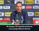 Mancini is helping Italian football - Bonucci