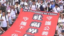 Chinese extradition bill spurs mass protests in Hong Kong
