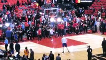 Kevin Durant dunking and shooting spinning three point jumpshots before Game 5 proving he sabotaged the Warriors during Finals Raptors vs Warriors 6-10-19