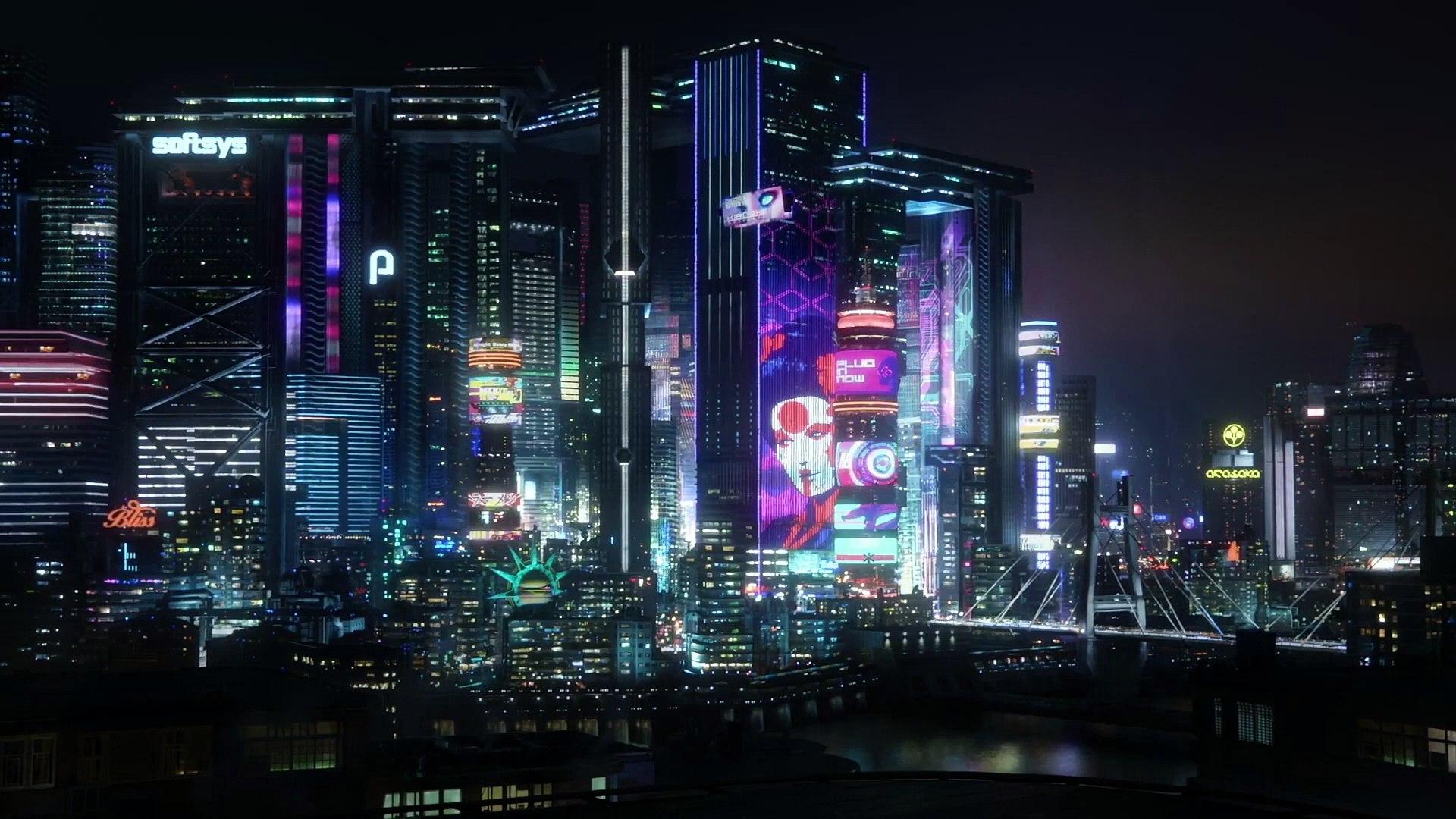 CYBERPUNK 2077 Official Trailer (2020) Keanu Reeves, E3 Game HD-1080
