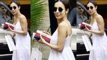 Malaika Arora flaunts her summer look in white dress   Boldsky